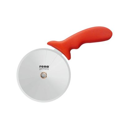 "Picture of RENA PIZZA CUTTER 4"" RED"