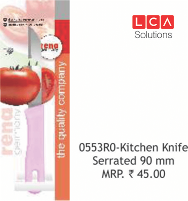 Picture of RENA 10PCS KITHCEN KINFE 90MM SERRATED
