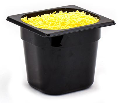 Picture of CAMBRO FOOD PAN 1/6 150MM (BLACK)