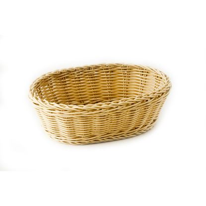 Picture of CHAFFEX POLY BASKET OVAL SMALL (IVORY)