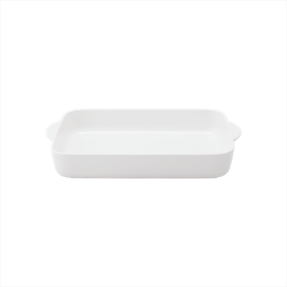 Picture of ARAINE GN RECT BUFFET BOWL 30X24CM (BLACK)