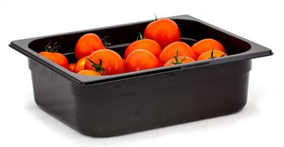 Picture of CAMBRO FOOD PAN 1/2 100MM (BLACK)