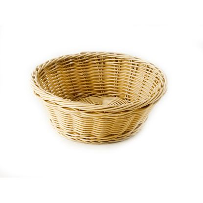 Picture of CHAFFEX POLY BASKET ROUND SMALL (IVORY)