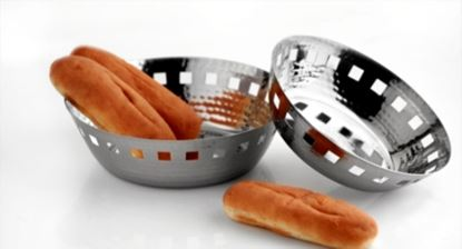 Picture of DESTELLER BREAD BASKET ROUND HAMMR 19CM