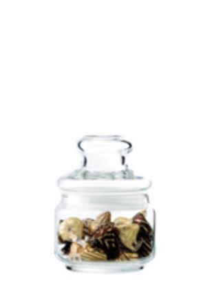 Picture of OCEAN POP JAR W/GLASS LID 325ML-B02511G