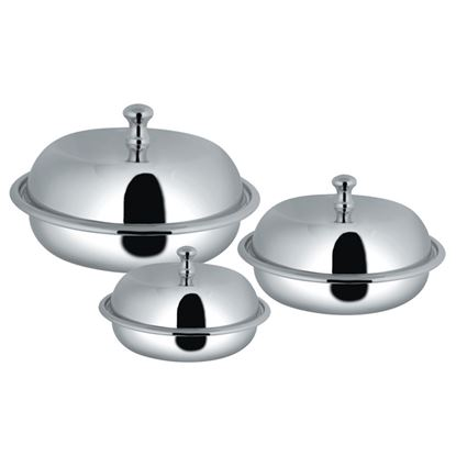 Picture of AWKENOX ROUND ENTREE DISH WITH COVER(2POR)