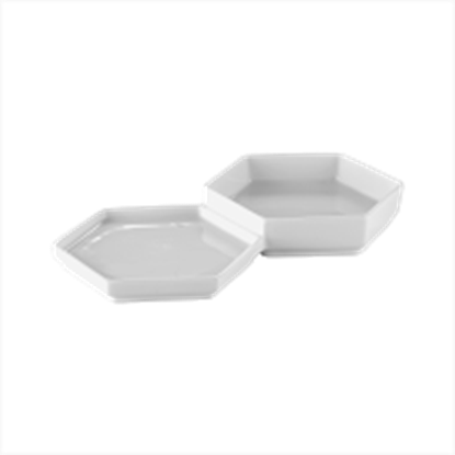 Picture of ARAINE HIVE MEDIUM TWIN BOWL 24.5X13.5X3X1.7CM