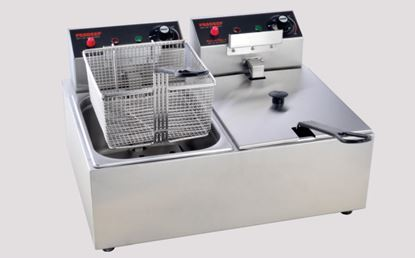 Picture of PRADEEP FRYER DOUBLE 05 LTR
