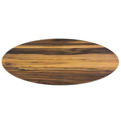 Picture of DINEWELL OVAL WOODEN PLATTER MED 0107