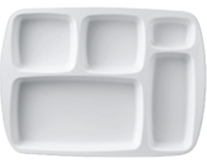 Picture of DINEWELL PARTITION PLATE (5P) 1036