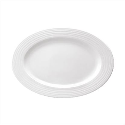 Picture of ARAINE ECLIPSE OVAL PLATTER 26CM