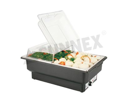 Picture of SUNNEX ELECTRIC CHAFFER RECT (W/FLIP COVER)