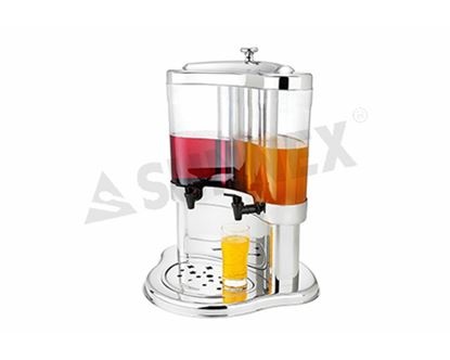 Picture of SUNNEX JUICE DISPENSER 5L (DOUBLE HALF MOON)