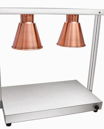 Picture of ELINVER FOOD WARMER 2 LAMPS