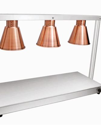 Picture of ELINVER FOOD WARMER 3 LAMPS