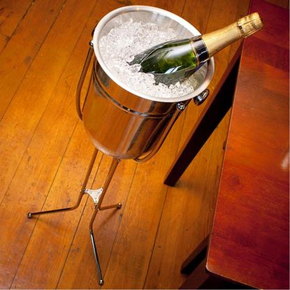 Picture of KMW WINE BUCKET WITH STAND (FOLDING)