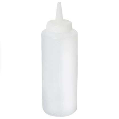 Picture of CHAFFEX SAUCE BOTTLE 24OZ (CLEAR)
