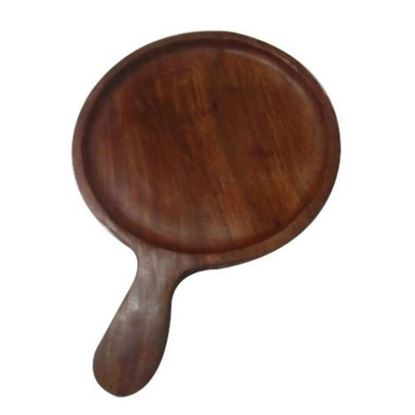 Picture of WOOD BOARD ROUND W/H 10""