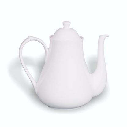 Picture of BONE-CHINA TEA POT (6CUP)