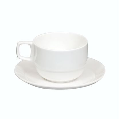 Picture of BONE-CHINA CUP STACKABLE BIG