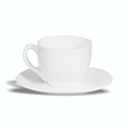 Picture of BONE-CHINA SQUARE SAUCER BIG