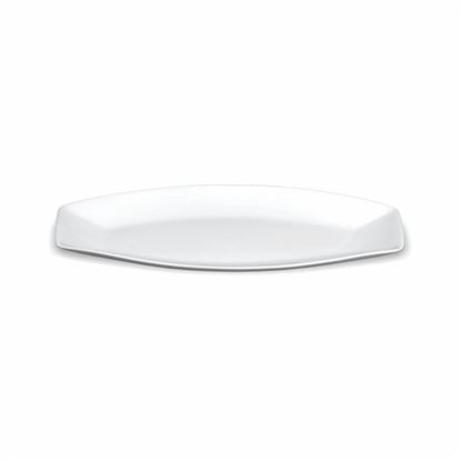 Picture of BONE-CHINA BAMBOO PLATTER SMALL