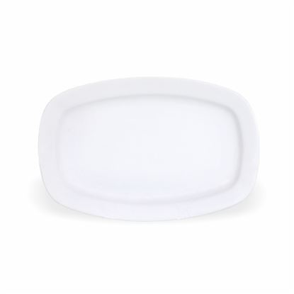 Picture of BONE-CHINA RECTANGLE PLATTER 12""