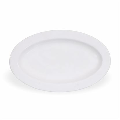 Picture of BONE-CHINA OVAL PLATTER 12""