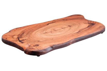 Picture of DINEWELL WOOD PLATTER WALNUT 0112