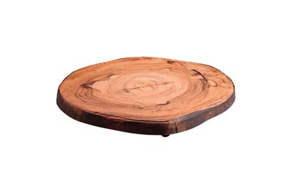 Picture of DINEWELL WOOD PLATTER ROUND CUT 0117