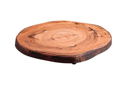 Picture of DINEWELL WOOD PLATTER ROUND CUT 0113