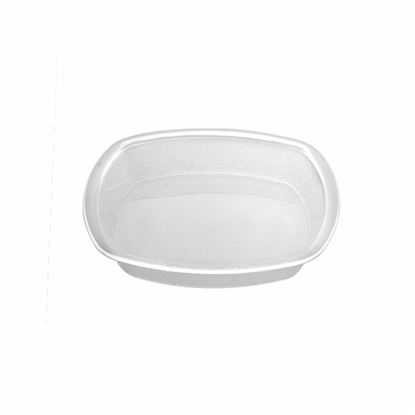 "Picture of MUSKAN CHAT PLATE SQ 6""(CLEAR)"