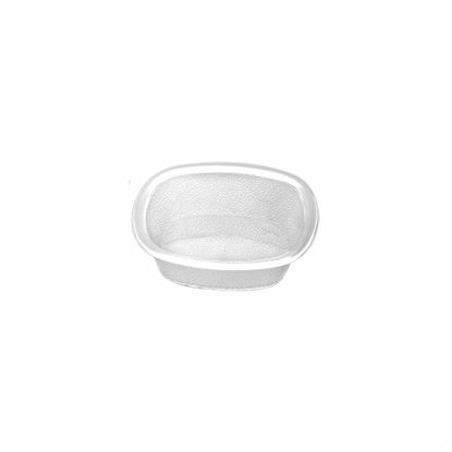 "Picture of MUSKAN CHAT PLATE SQ 4""(CLEAR)"
