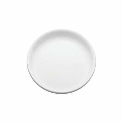 "Picture of MUSKAN ROUND PLATE 8"" (WHITE)"
