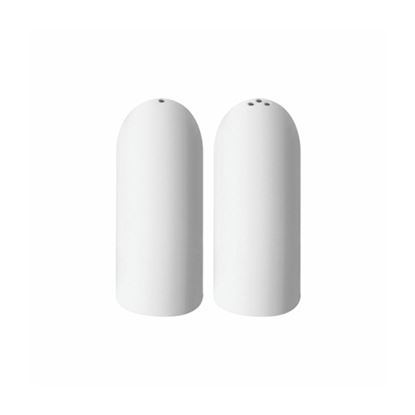 Picture of MUSKAN SALT & PEPPER SET ROUND (WHITE)