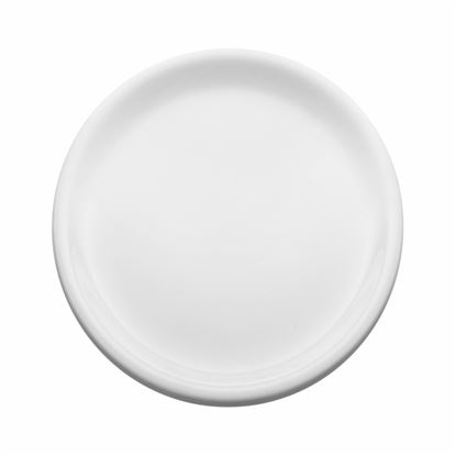 "Picture of MUSKAN HAMMERED PLATE 12"" (WHITE)"