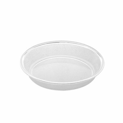 "Picture of MUSKAN CHAT PLATE RND 6""(CLEAR)"
