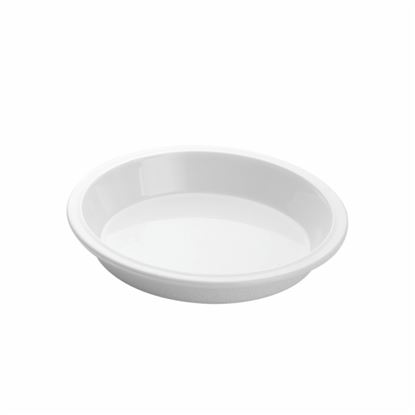 "Picture of MUSKAN CHAT PLATE ROUND 6""(WHITE)"