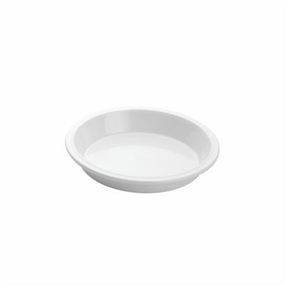 "Picture of MUSKAN CHAT PLATE ROUND 5""(WHITE)"