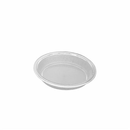 "Picture of MUSKAN CHAT PLATE RND 4""(CLEAR)"