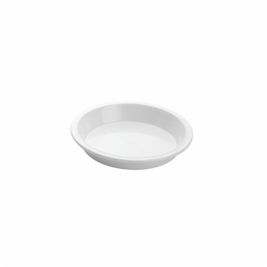 "Picture of MUSKAN CHAT PLATE ROUND 4""(WHITE)"