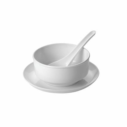 Picture of MUSKAN SOUP BOWL HW (WHITE)