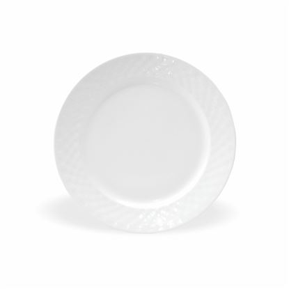 Picture of BONE-CHINA CHEKERS PLATE 10""