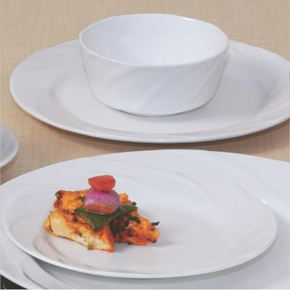 Picture of BONE-CHINA TARANG PLATE 10""