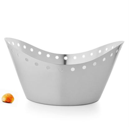 Picture of DESTELLER BREAD BASKET CURVED MATT 20X9CM