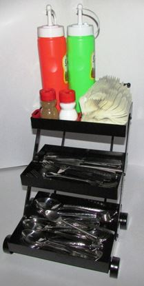 Picture of DESTELLER CAST CUTLERY CADDY