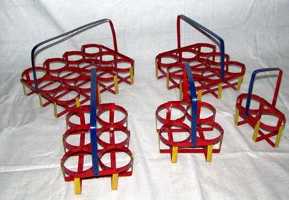 Picture of DESTELLER CAST GLASS STAND 4 GLASS