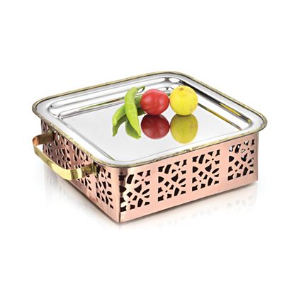 Picture of LACOPPERA SNACK WARMER SQUARE JUMBO D/CUT