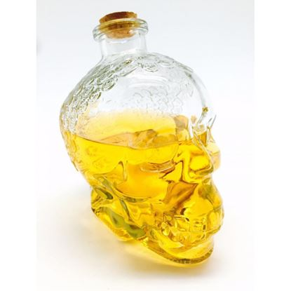 Picture of DN SKULL DECANTER W/CORK 380ML