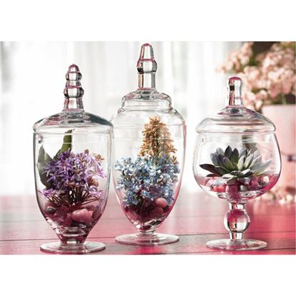 Picture of DN APOTHEECARY JARS (3PCS)